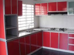 modular kitchen designs red white kitchen design ideas