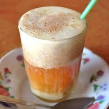 Teh Telur talua teh telur bergengsi khas minangkabau buahatiku