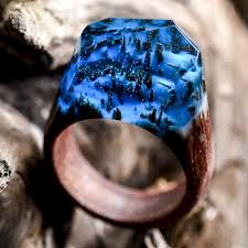 rings world images My secret wood 39 s out of this world resin and wood rings the jpg