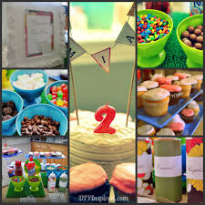 Decorate Your Own Cupcake Summer Birthday Party Food And Drink Diy Inspired