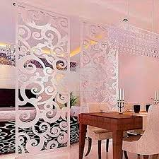 Metal Room Divider Stainless Steel Room Divider With Decorative Art