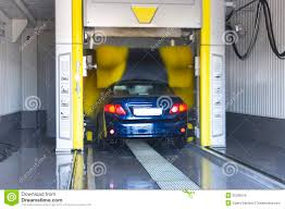 car wash service automatic car wash stock photo image of express water 35590576