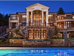 2 Story House With Pool by Big Beautiful Mansions With Pools