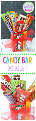 candy bar bouquet easy candy bar bouquet projects