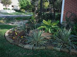 Landscaping Ideas For The Backyard by Texas Landscaping Ideas Fort Worth Tx Low Water Landscaping