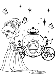 strawberry shortcake and magical carriage coloring page free