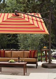 Floral Print Patio Umbrellas by Outdoor And Patio Modern Outdoor Cantilever Umbrella With Black