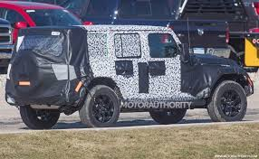 jeep rubicon specs 2018 jeep wrangler specs leak 4wd available