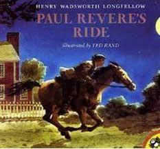 paul revere s ride by henry wadsworth longfellow scholastic