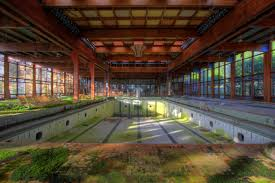 empty swimming pool resorts abandoned and abandoned places