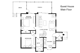 guest house floor plan architectures excellent small house floor plan without legend