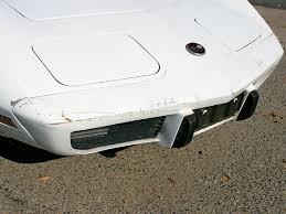 1978 corvette front bumper c3 corvette bumper repair simple urethane bumper cap fixes