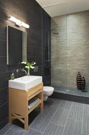Slate Tile Bathroom Designs by 45 Best Carrelage Salle De Bain Images On Pinterest Bathroom