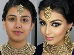 indian bollywood south asian bridal makeup start to finish