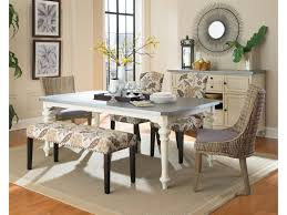 coaster matisse upholstered dining bench with nailhead trim
