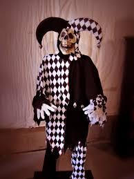 haunted eve u0027s halloween blog skeleton jester prop