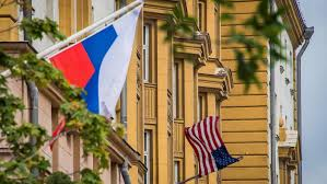 American House Flag Russian Lawmaker Proposes New Address For U S Embassy 1 North