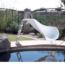 right in your own backyard aqua action slides swimming pool slides right in your own backyard