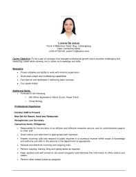 Objective For Resume Internship Resume Objectives Tools 2017 Cv Job Objective On Sam Peppapp