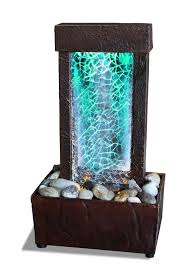 indoor fountain with light light show led indoor fountain tabletop soothing artistry rocks