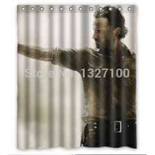 Portal 2 Aperture Laboratories Shower Curtain From Thinkgeek Youtube The Walking Dead U0027 Shower Curtain This Is Kind Of Terrifying But
