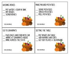 thanksgiving language speech therapy activities by rayburn kirk