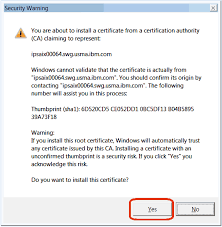storing certificates for client applications