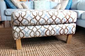 cushion ottoman coffee table cushion ottoman coffee table living