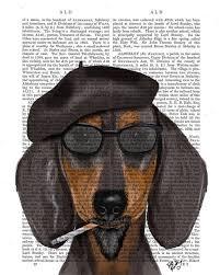 acrylic dog ring holder images 508 best art dachshund images dachshund dog jpg