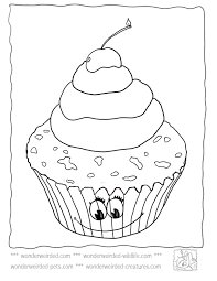 cute cupcake coloring pages coloring pages cupcakes coloring home