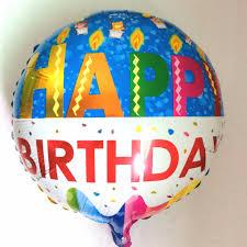 birthday helium balloons aliexpress buy 18 globos happy birthday balloon aluminium