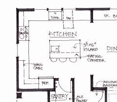 kitchen island layout u shaped kitchen floor plans amusing with island
