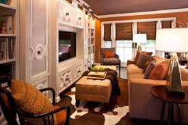 Brown Interior Design by Cowhide Rugs And A Few Ways Of Using Them In Your Interior Décor
