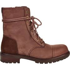 womens ugg boots with laces s ugg kilmer lace up boot chestnut leather free shipping
