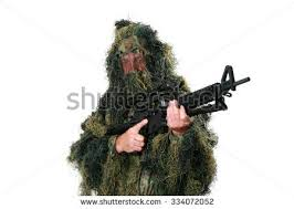 Ghillie Suit Halloween Costume U0026quot Ghillie Suit U0026quot Stock Images Royalty Free Images