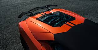 Lamborghini Aventador Front View - lamborghini aventador zaragoza edizione front spoiler vorsteiner