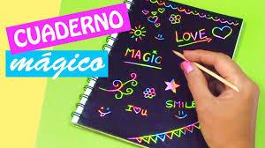 como forrar un cuaderno con tela youtube manualidades cuaderno mágico diy regreso a clases innova