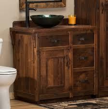 6 foot vanity log vanities rustic vanities barnwood vanities
