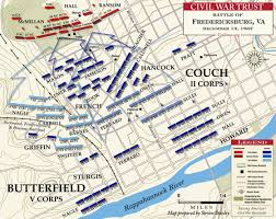 Map Of The United States During The Civil War by Marye U0027s Heights December 13 1862 Civil War Trust