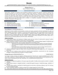 Sample Resume Objectives For Training by Professional Resume Samples Resume Prime