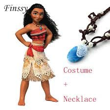 costume for princess moana costume for children moana costume with