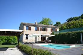 country house with pool in montottone property le marche