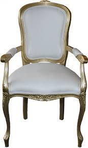 Esszimmer Sofa Casa Padrino Barock Möbel Barock Kollektion Weiß Gold