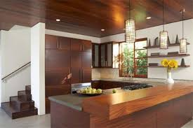 exterior beauteous sustainable home warm wood textural kitchen l