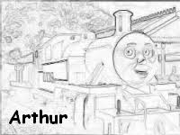 thomas friends arthur tank engine character guide