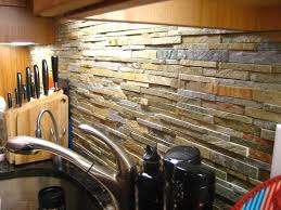 Rock Backsplash Kitchen by 19 Best Backsplashes Images On Pinterest Backsplash Ideas