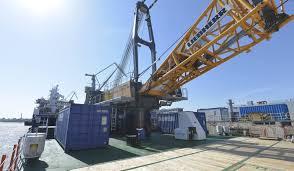 newest model damen crane barge 4518 multirole design and high tech systems