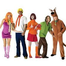 Scooby Doo Gang Halloween Costumes 107 Scooby Doo Birthday Party Ideas Images