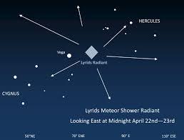 lyrid meteor shower 2014 lyrids meteor shower best viewed after dark on 22nd april in