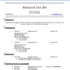 Nurse Resume Template Free Download Nursing Resume Template Free Jospar